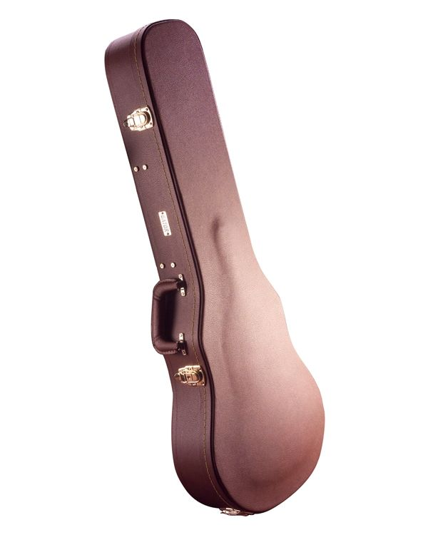 Gator Deluxe Wood Case for Single Cutaway Guitars