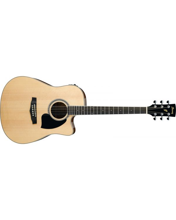 Ibanez PF15ECE Electro Acoustic Guitar - Natural (High Gloss)