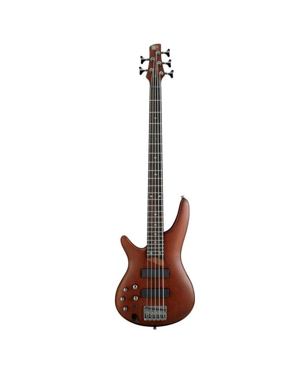 Ibanez SR505 Soundgear 5 String Left Handed Bass in Brown Mahogany