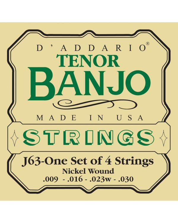 DAddario Tenor Banjo Strings, Nickel, 9-30