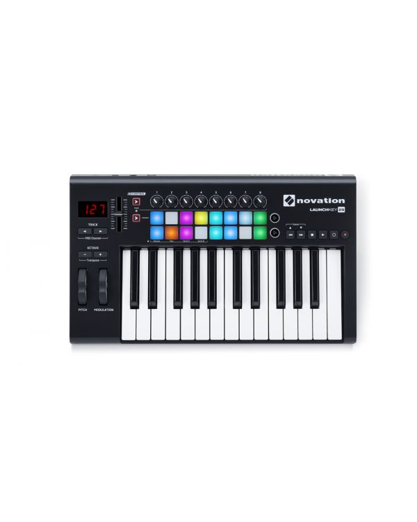 Novation Launchkey 25 MK2 USB MIDI Keyboard