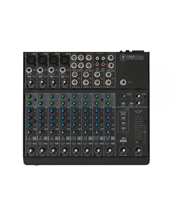 Mackie 1202VLZ4 12 Channel Compact Mixing Desk