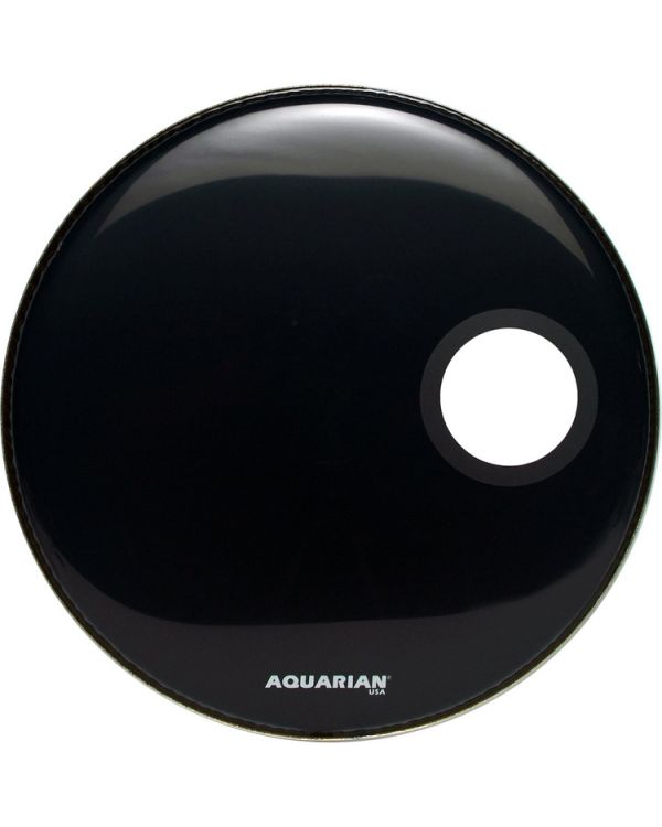 Aquarian 22 Black S Hole Bass Head