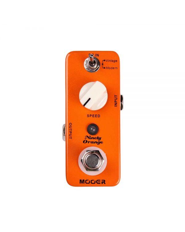 Mooer Ninety Orange Analog Phaser Guitar Effects Pedal