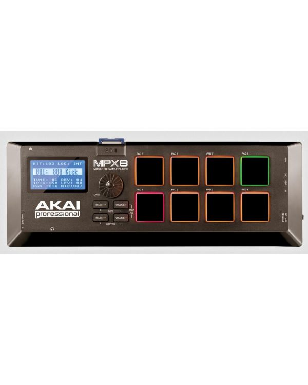 Akai Professional MPX8 Sampler and MIDI Controller