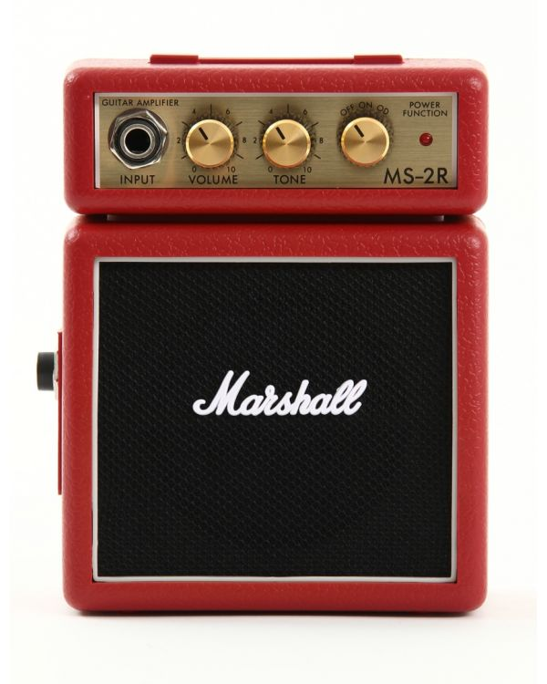 Marshall MS-2 Micro Amp, Red