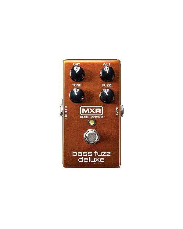 MXR M84 Bass Fuzz Deluxe Guitar Effects Pedal