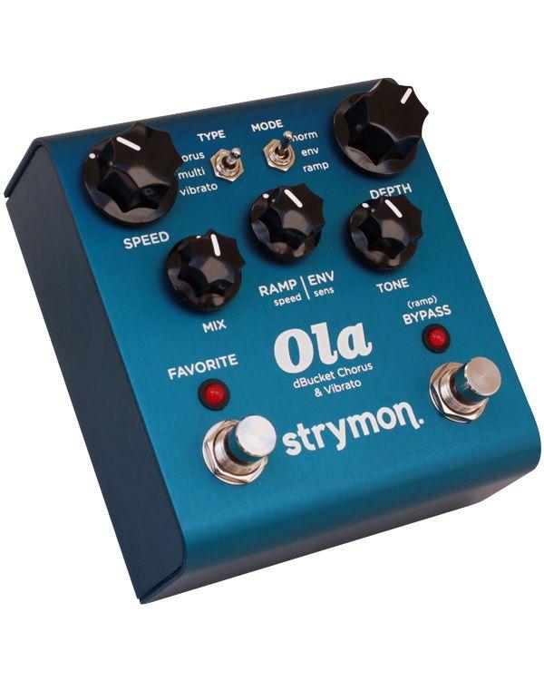 Strymon Ola Dbucket Chorus Vibrato Pedal