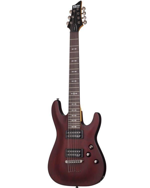 Schecter OMEN-7, 7 String Guitar in Walnut Satin