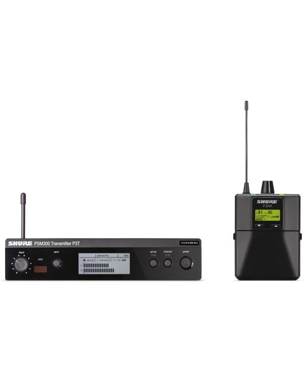 Shure PSM300 Premium Wireless Personal Monitor System