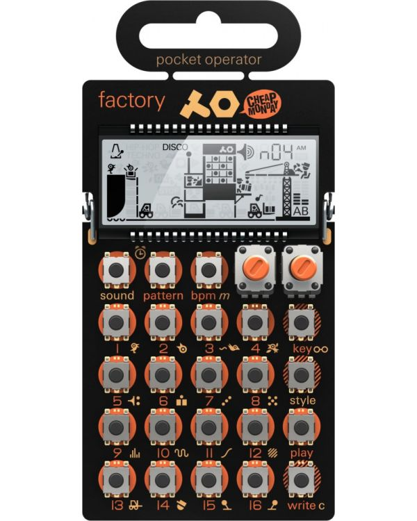 Teenage Engineering PO-16 Factory Synth Sequencer