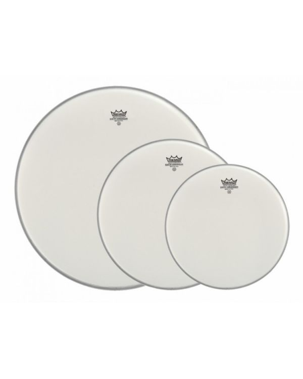 Remo Ambassador Coated Rock/Fusion ProPack Drum Heads