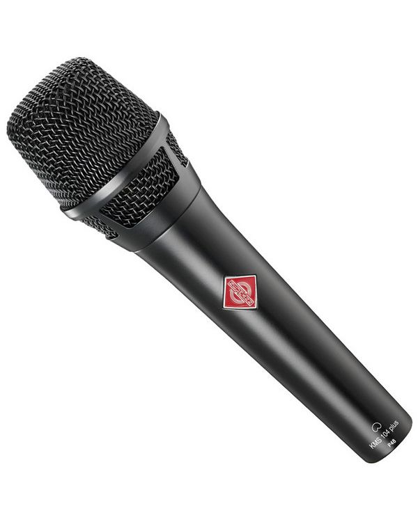 Neumann KMS 104 Plus Hand Held Live Condenser Microphone in Black