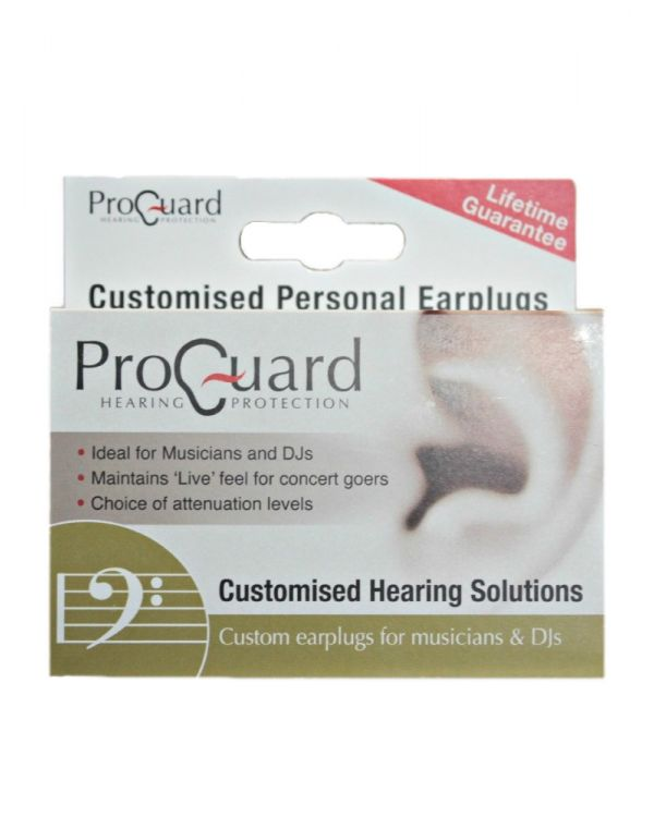 ProGuard Custom Fit Musicians and DJs Earplugs