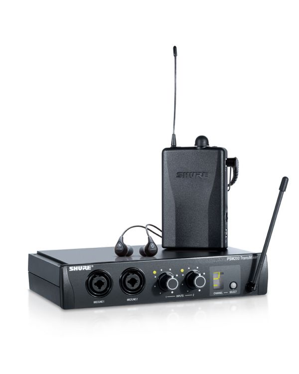 Shure PSM200 Wireless System With SE112 Earphones