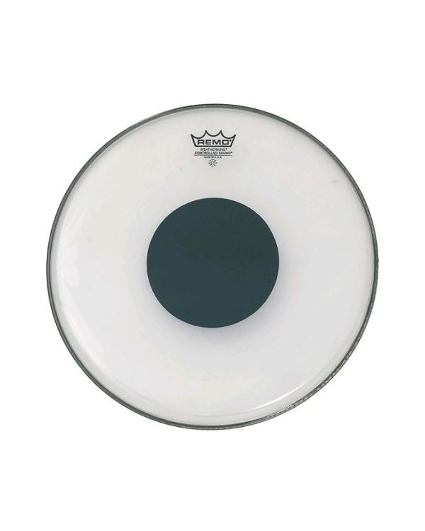 """Remo 13"""" CS Clear Tom / Snare Head With Black Dot"""
