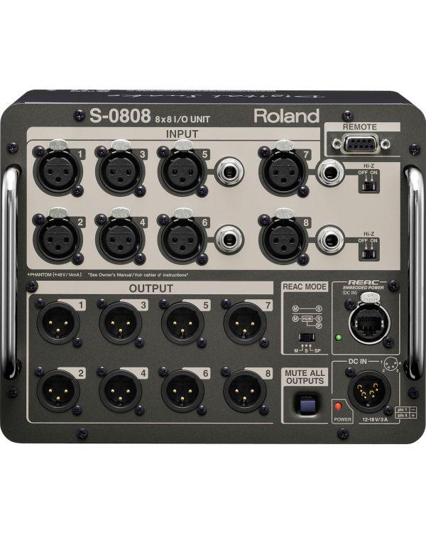 Roland S-0808 8 x 8 Input / Output Unit