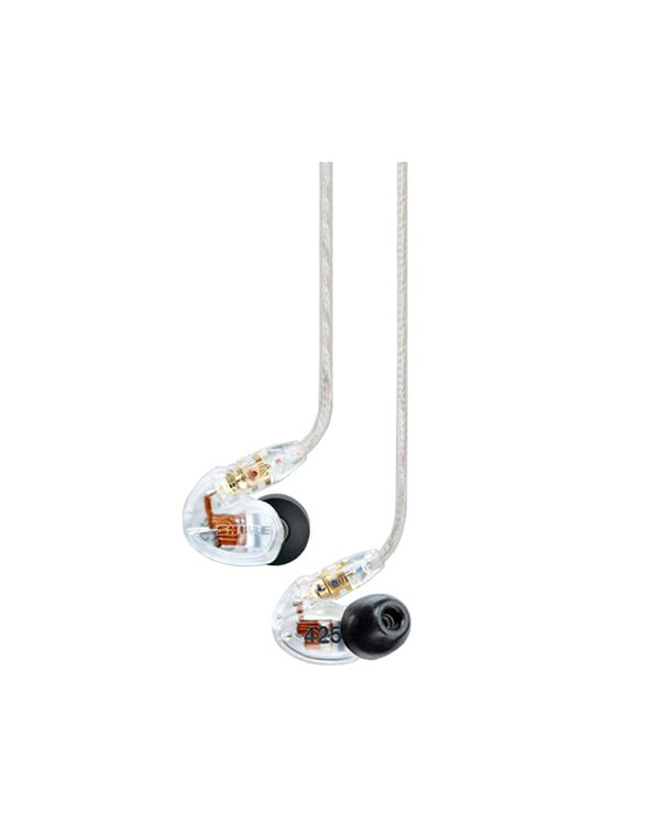Shure SE425 Sound Isolating In Ear Headphones - Clear