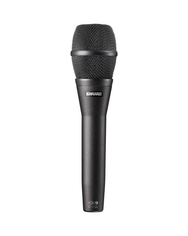 Shure KSM9 Vocal Cardioid Condenser Microphone - Charcoal Grey