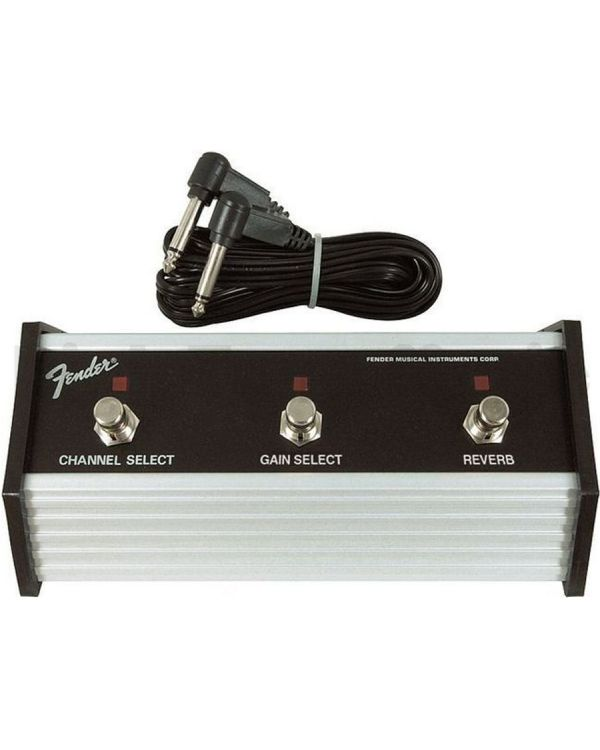 Fender 3-Button Footswitch with Channel/Boost/Reverb