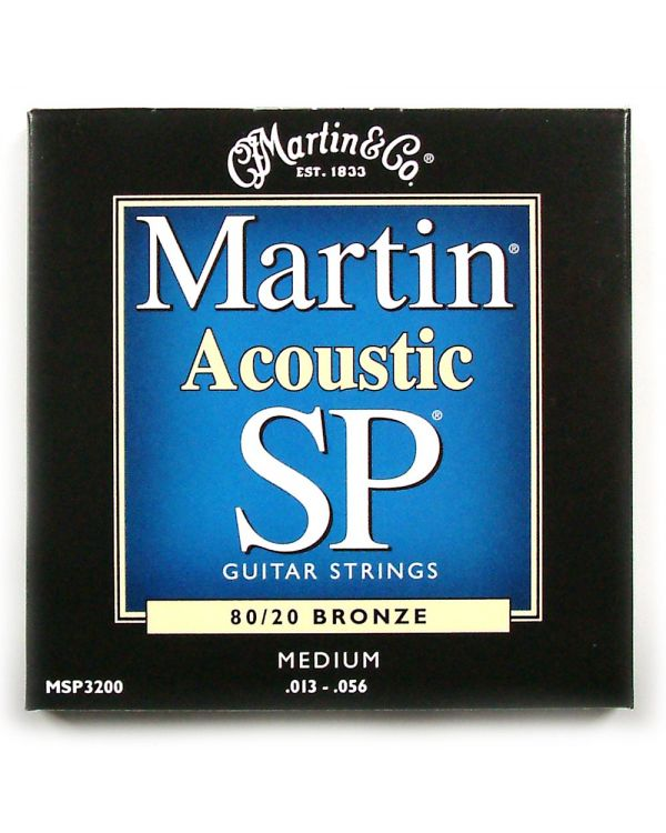 Martin MSP3200 Medium Acoustic Strings .013 - .056