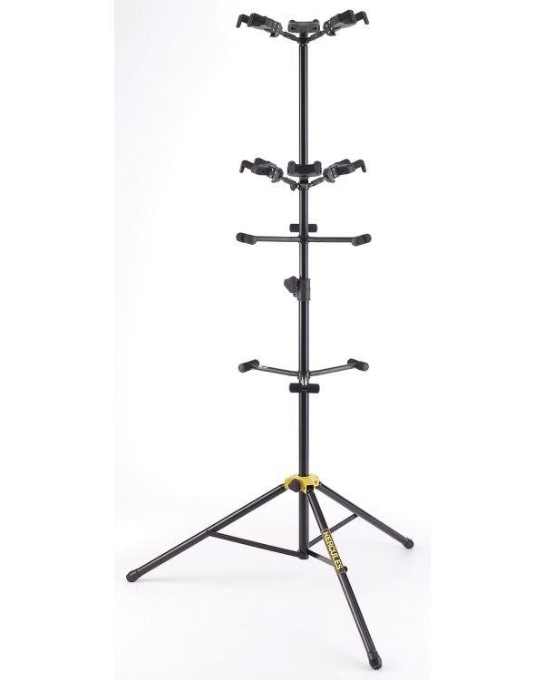 Hercules GS526B Auto Grip System Stand for 6 Guitars