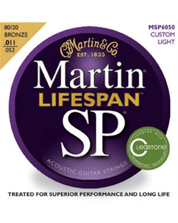 Martin MSP6050 Custom Light Acoustic Guitar Strings .011-.052