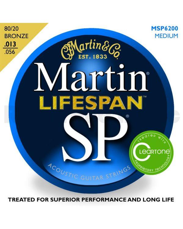 Martin MSP6200 Medium Acoustic Guitar Strings .013-.056