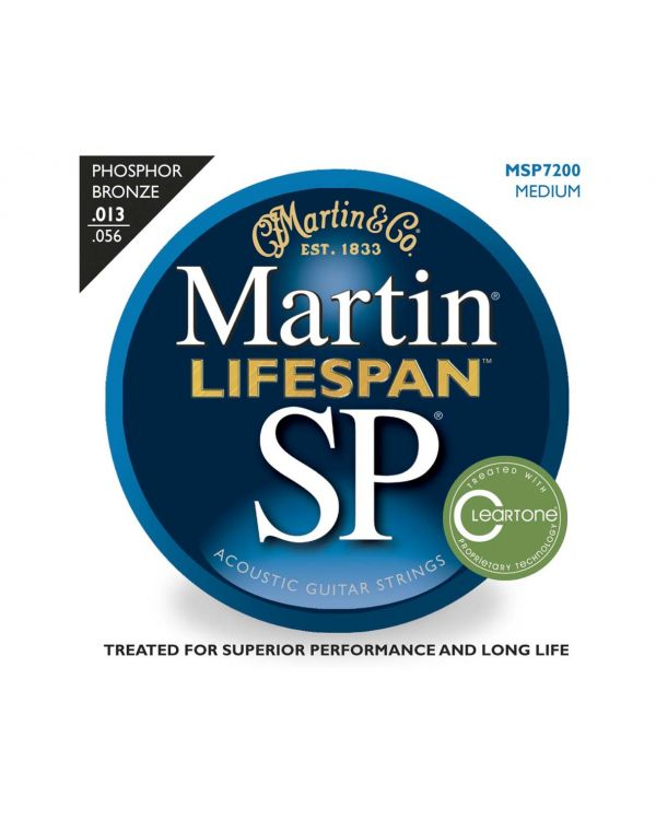 Martin MSP7200 Phosphor Bronze Medium Acoustic Strings .013-.056