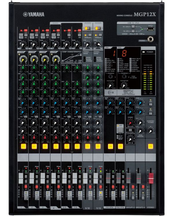 Yamaha MGP12X 12 Channel Mixing Desk with Effects and USB