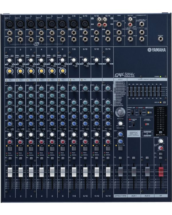 Yamaha EMX5014C 14 Channel Powered Mixing Desk