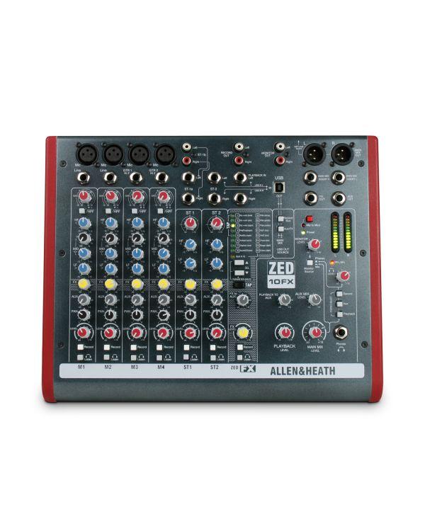 Allen & Heath ZED10FX 10 Channel Mixing Desk