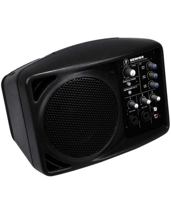 Mackie SRM150 Portable Active PA Speaker (Single)