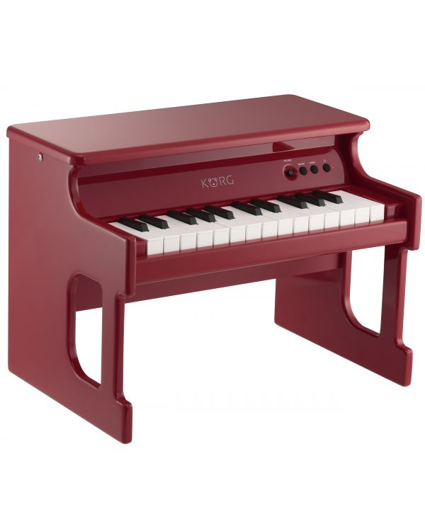 Korg tinyPIANO Digital Toy Piano in Red