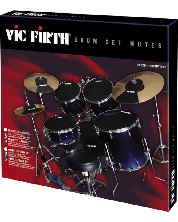 "Vic Firth 22"" Rock / Fusion Drum Pad Mute Pack"