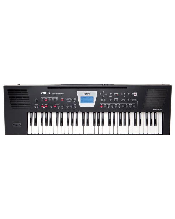 Roland BK3 Arranger Keyboard in Black