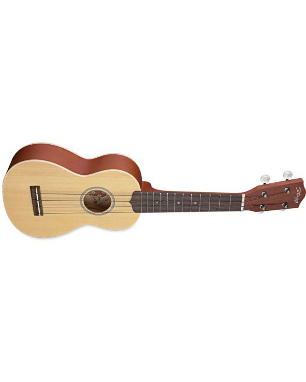 Stagg US60 Solid-top Traditional Soprano Ukulele