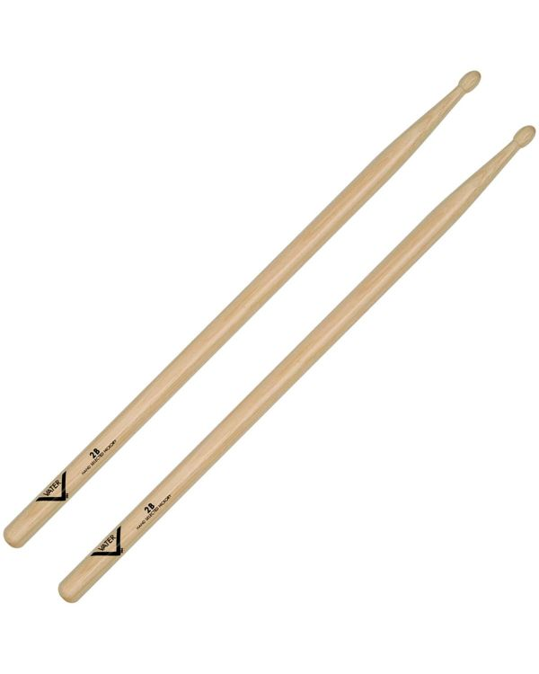 Vater 2B Wood Tip Hickory Drum Sticks