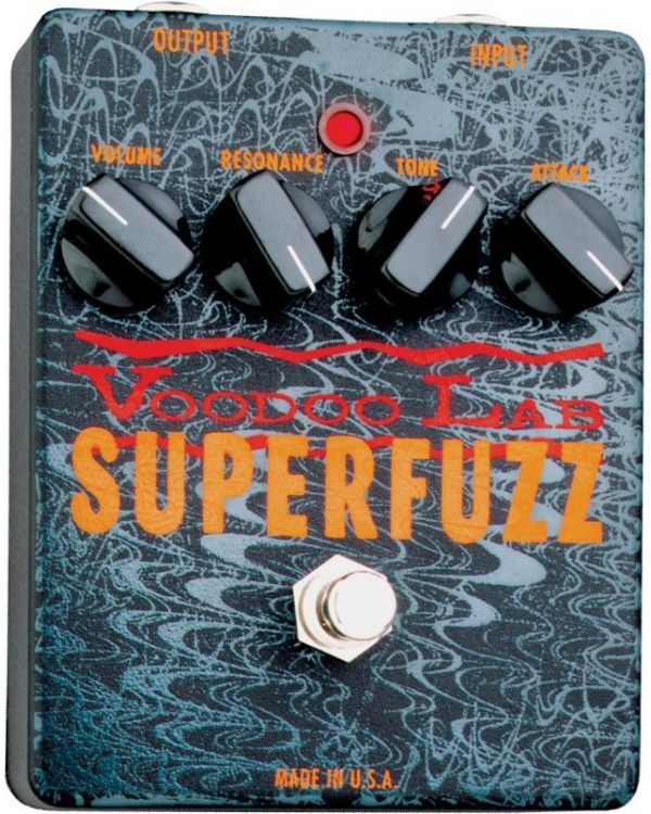 Voodoo Lab Superfuzz VL-VS Guitar Effects Pedal