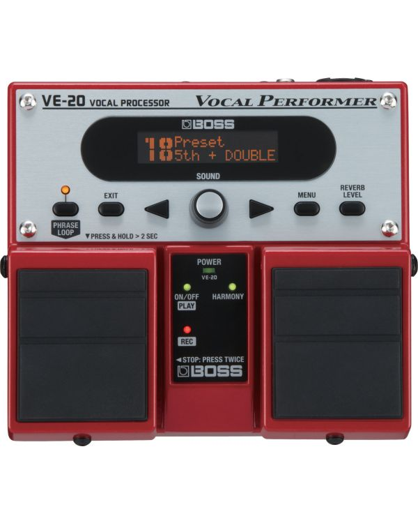 Boss VE20 Vocal Performer Effects Pedal
