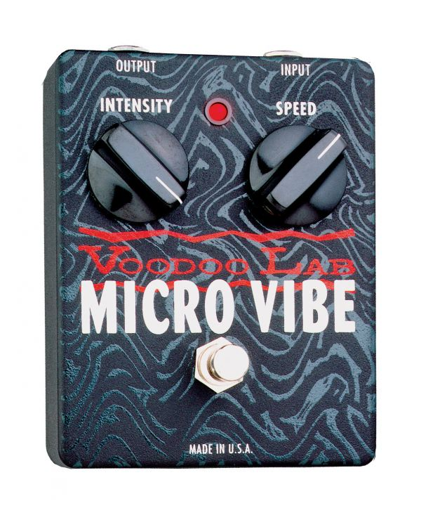 Voodoo Lab Micro Vibe Phaser Guitar Effects Pedal