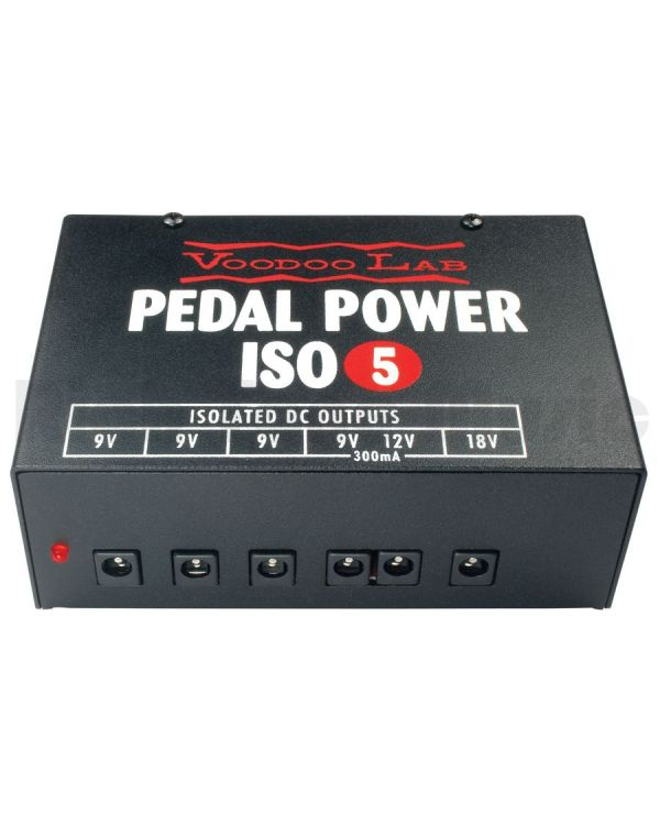 Voodoo Lab VL-PIEX ISO-5 Pedal Power Supply