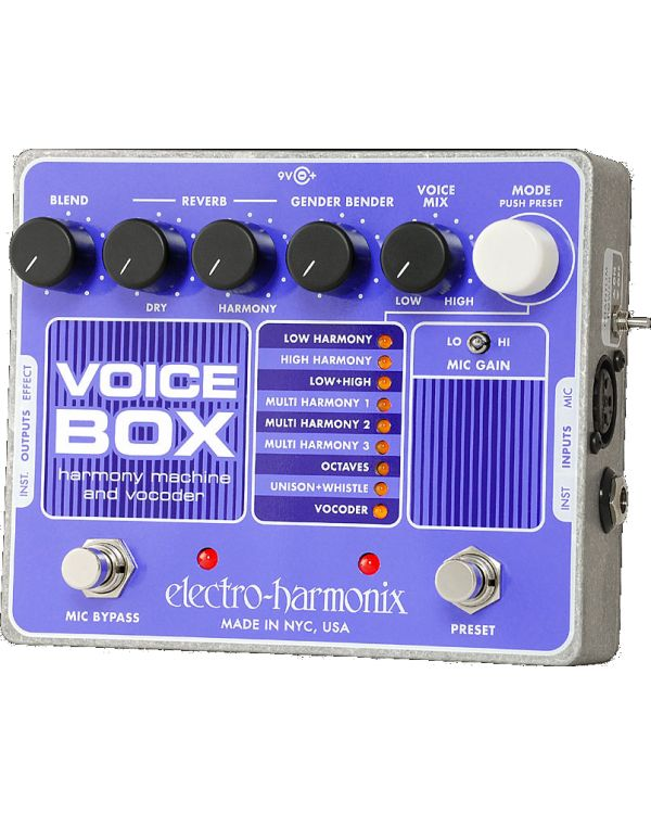 Electro Harmonix Voicebox Effects Pedal