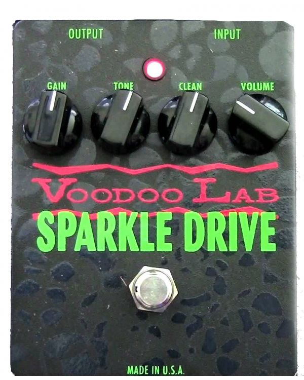 Voodoo Lab VL-VD Sparkle Drive Guitar Effects Pedal