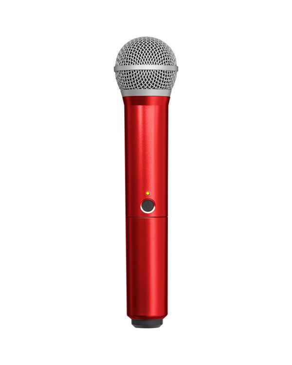 Shure BLX PG58 Handle in Red