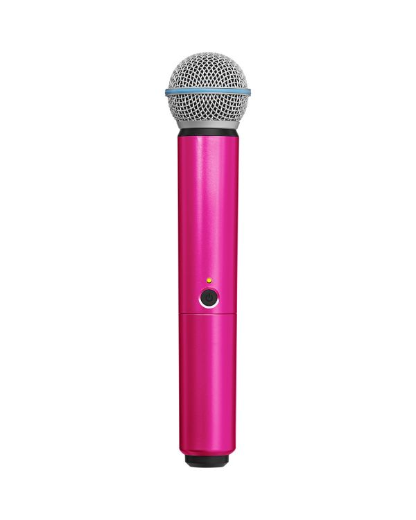 Shure BLX SM58-Beta 58A Handle in Pink