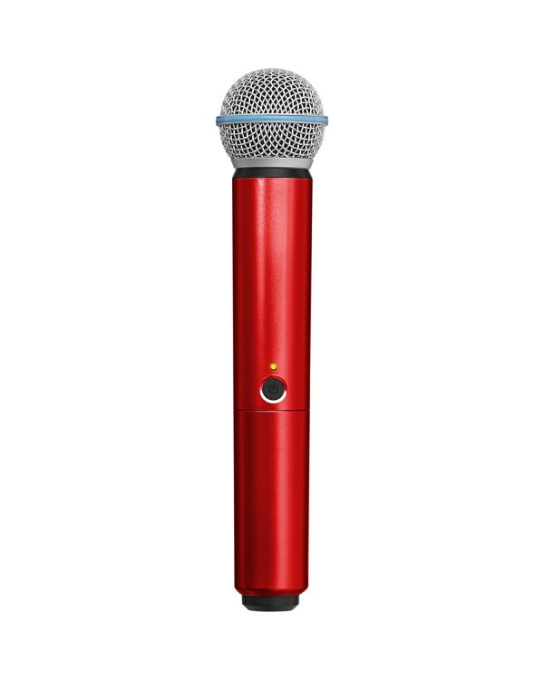 Shure BLX SM58/Beta 58A Handle in Red