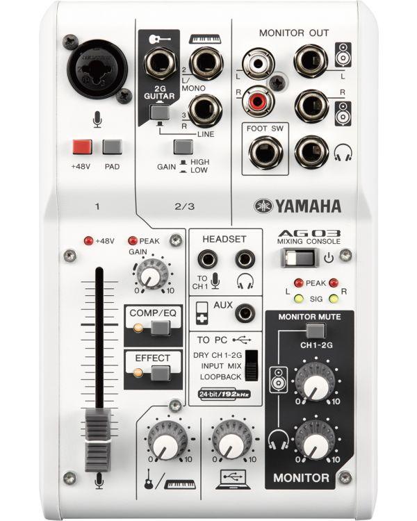 Yamaha AG03 Mixer USB Audio Interface