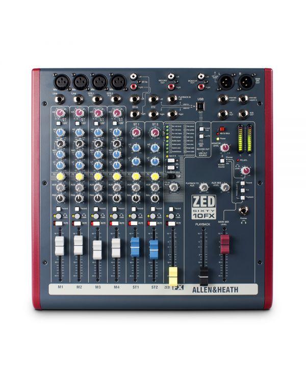 Allen & Heath ZED60-10FX Mixing Desk