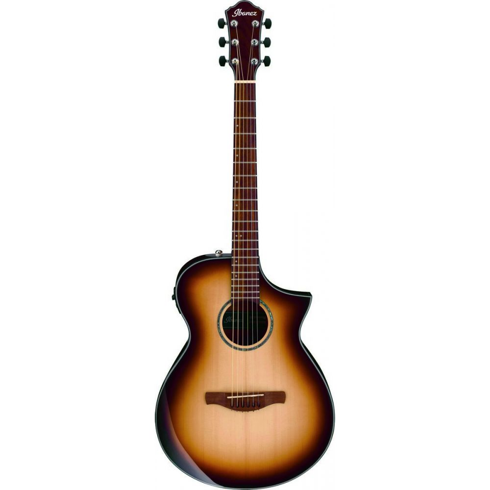 Ibanez AEWC300-NNB Electro-Acoustic Natural Brown Burst GAK